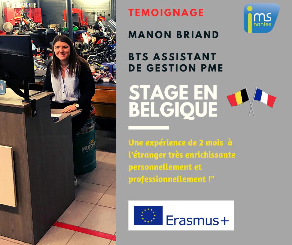 stage belgique